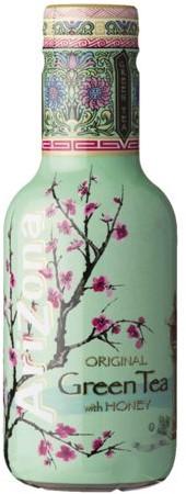 Frisdrank Arizona green tea met honing petfles 0,5l