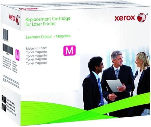 Tonercartridge Xerox 006R03525 Lexmark C540H2MG rood