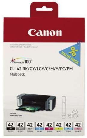 INKCARTRIDGE CANON CLI-42 MULTIPACK