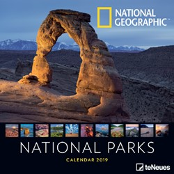 Kalender 2019 teNeues NG national parks