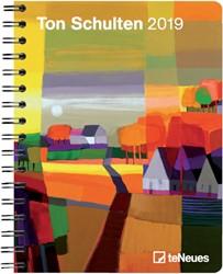 Agenda 2019 teNeues Ton Schulten 16.6x21.6cm