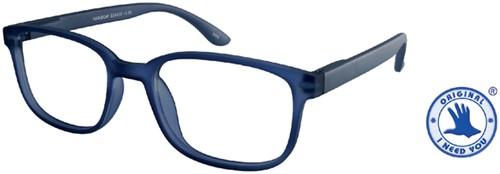 Leesbril +1.50 regenboog blauw