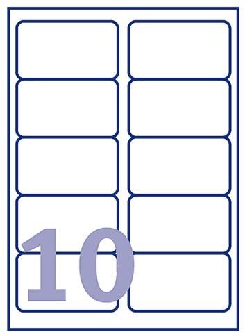 Etiket Avery L7173B-100 99.1x57mm 1000stuks-2