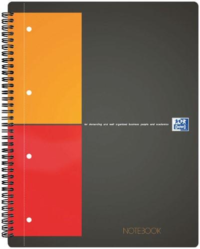 Spiraalblok Oxford International Notebook A4+ ruit 5mm