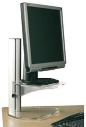 Monitorstandaard OPUS 2 style transparant