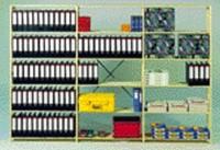 Aanbouwrek B131 met 6 legborden 100x37.5x208cm