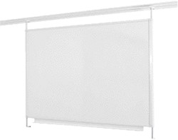 Whiteboard Legaline Dynamic 100x100cm magnetisch emaille