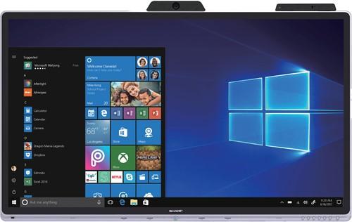 Sharp Windows collaboration display